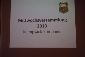 2019 Mittwochsversammlung